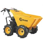 Lumag MD300R 300kg Petrol Power Barrow with Manual Tip